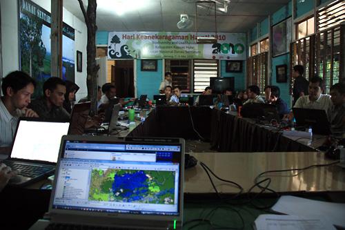 Aktive Teilnehmer des GIS Kurses