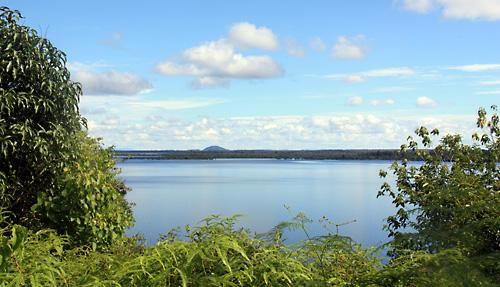 Danau Luar (Nationalpark Danau Sentarum) im April 2010.